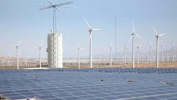 Башня-кран для аккумулирования избыточной электроэнергии