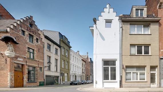 Крихітний однономерний готель в Бельгії