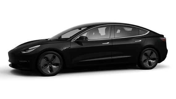 Представлена дешевая версия электрокара Model 3