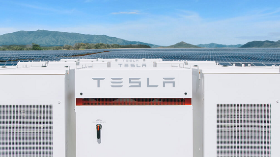 Для створення найбільшого в світі сховища енергії Tesla розробила величезні акумулятори