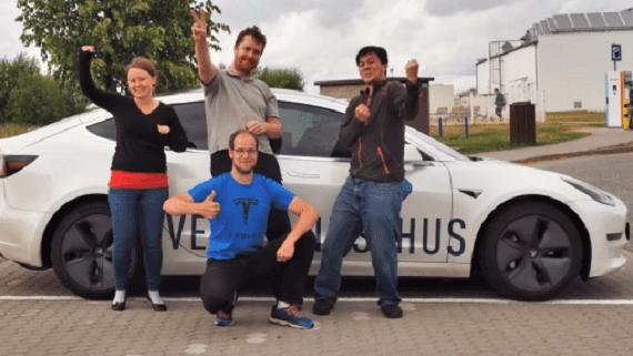 Блогер побив рекорд добової дистанції на Tesla Model 3 Long Range AWD
