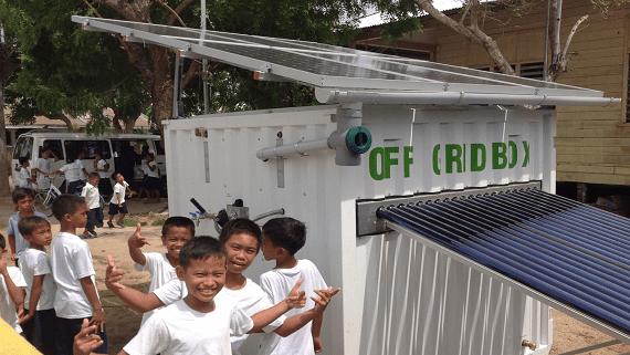 Розроблена невелика установка яка виробляє дешеву електроенергію і прісну воду