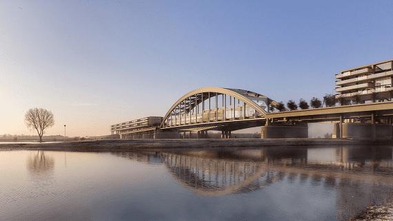 В Нидерландах старый мост переоборудуют в жилой комплекс