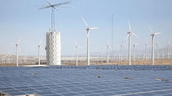 Вежа-кран для акумулювання надлишкової електроенергії