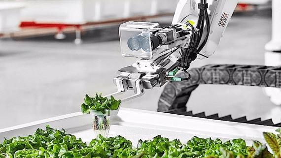 В США запустили первую роботизированную ферму