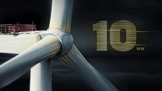 Компания Vestas представила мощнейшую в мире ветровую турбину
