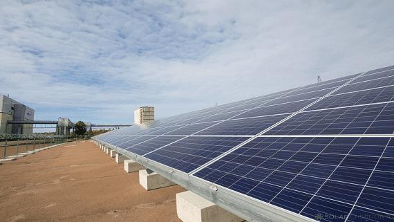 У Чорнобилі запустили першу сонячну електростанцію