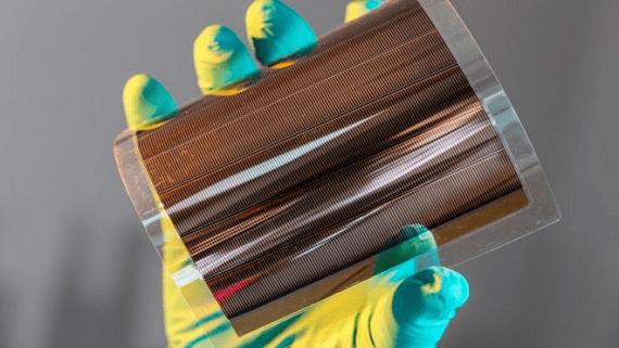 Разработаны эффективные органические солнечные батареи
