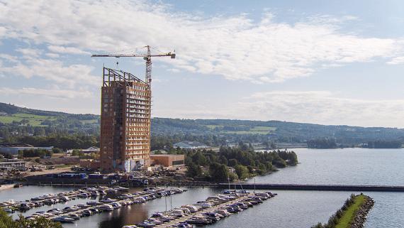 Найвищий в світі дерев'яний хмарочос будується в Норвегії