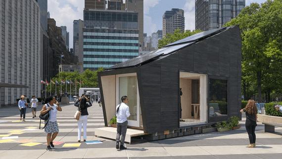 Маленький еко-будинок на поновлюваних джерелах енергії