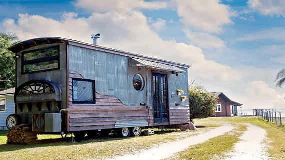 Необычный бюджетный дом построенный за 15 тысяч долларов
