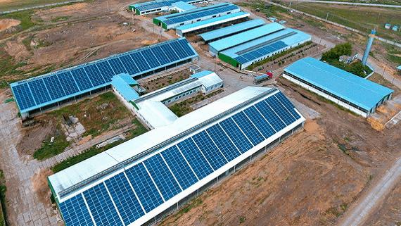 В Херсонской области установили самую большую в Украине  солнечную станцию на крыше