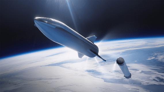 SpaceX представила прототип ракети для польотів на Місяць і Марс