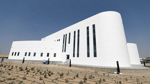 Найбільшу в світі будівлю надруковану на 3D принтері відкрили в Дубаї