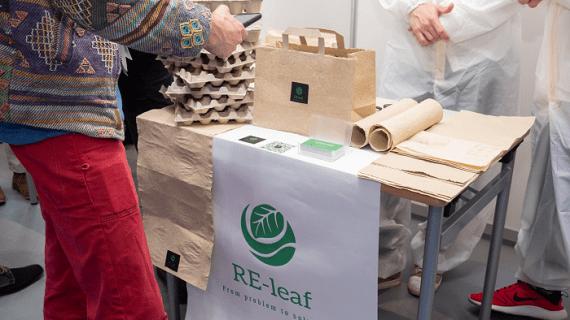 Украинский студент разработал технологию производства бумаги из опавших листьев