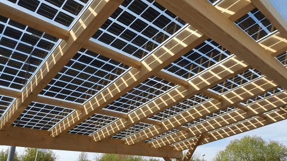 Солнечное стекло от немецкой компании Aleo Solar