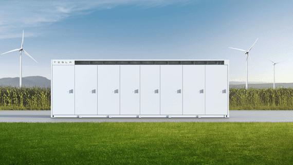 Tesla представила сховища електроенергії Megapack промислового і комунального масштабу
