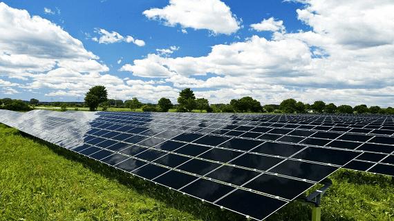 Запущена первая в Украине солнечная электростанция с панелями украинского производства