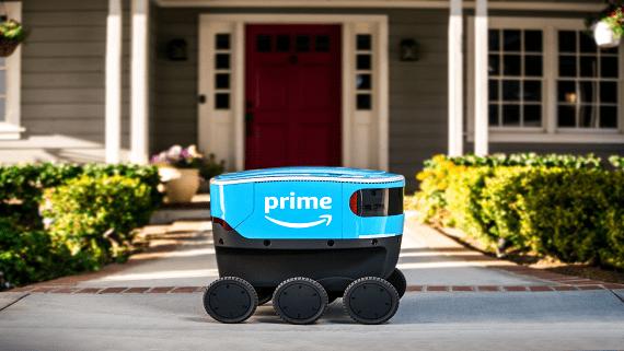 Amazon почала польові випробування роботів-кур'єрів Scout