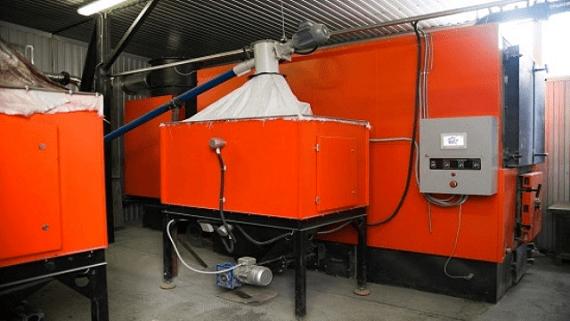 В Днепропетровской области котельная на биотопливе отапливает 18 зданий