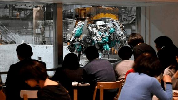 У Токіо відкрили кафе на сміттєпереробному заводі
