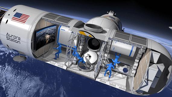 Орбітальний готель в космосі