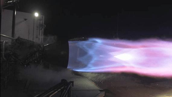 SpaceX провела успішні перші випробування нового двигуна для польотів на Марс