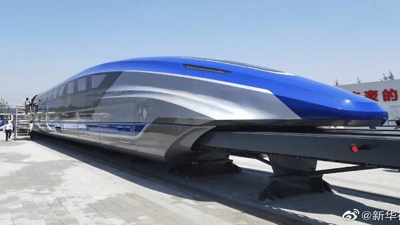 У Китаї представлений прототип найшвидшого поїзда в світі
