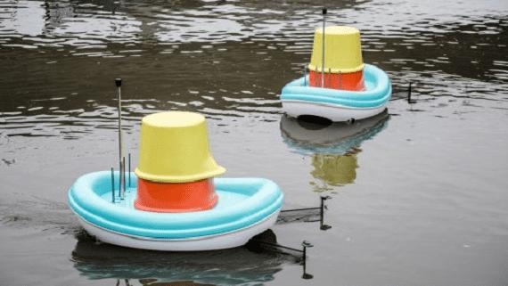 IKEA создала лодки для дистанционной очистки рек от мусора