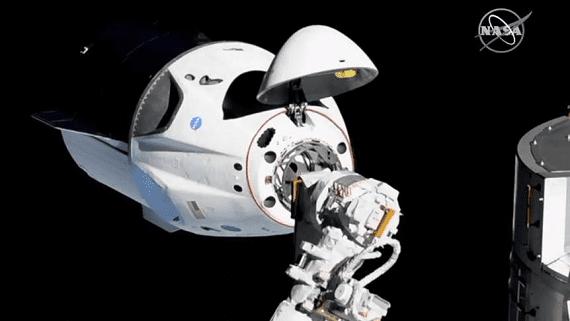 SpaceX успешно запустила космический корабль Crew Dragon к МКС