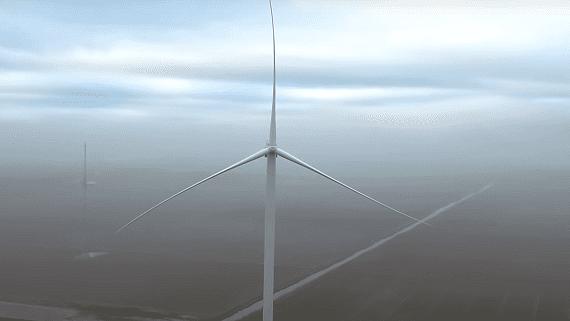 В Нидерландах запустили самую большую в мире береговую ветровую турбину