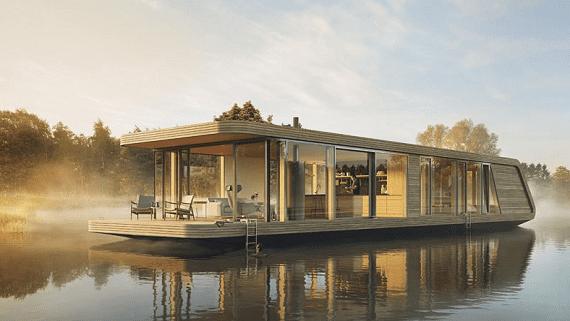 Автономные плавучие дома от Голландских архитекторов