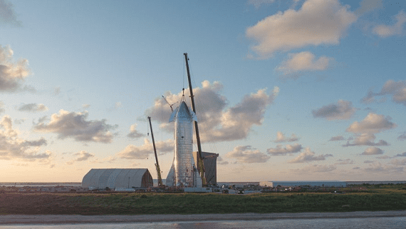 Ілон Маск представив новий прототип космічного корабля Starship