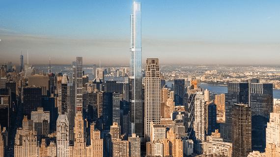 У Нью-Йорку будують найвищий житловий хмарочос в світі
