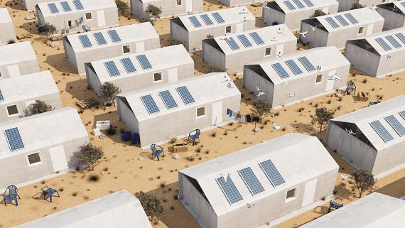 Будинки з бетонної тканини