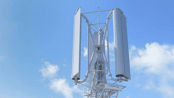 Японские ветровые турбины будут использовать энергию ветра во время тайфунов