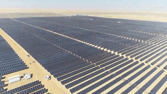 В пустыне Сахара запущен крупнейший в мире солнечный парк