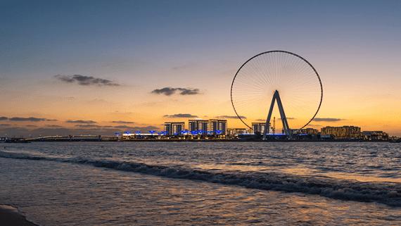 Самое высокое в мире колесо обозрения построят в Дубае