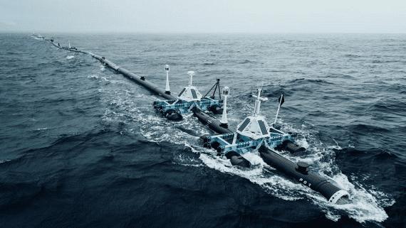 The Ocean Cleanup повторно спущений в води Тихого океану для збору сміття