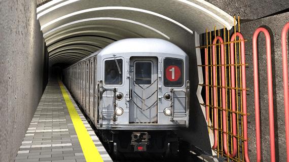 Швейцарські інженери запропонували використовувати надлишкове тепло тунелів метро для обігріву будівель