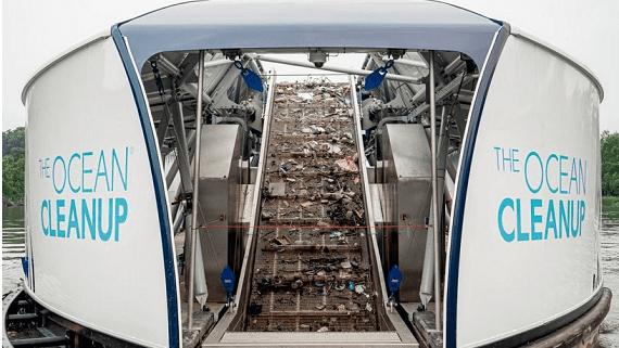 Автономне судно для збору сміття на річках