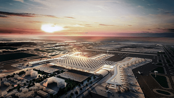 В Стамбуле открылся самый большой аэропорт в мире