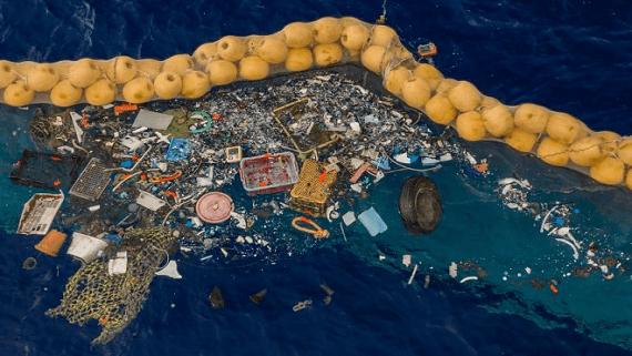 Устройство по очистке океана вновь приступило к сбору мусора
