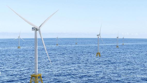 У побережья Великобритании строится крупнейший в мире оффшорный ветропарк