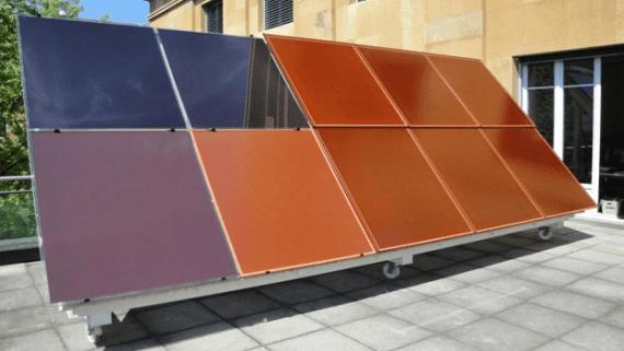 В Италии запустилось производство цветных солнечных панелей