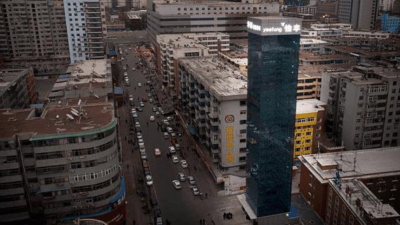 Самый высокий паркинг в мире