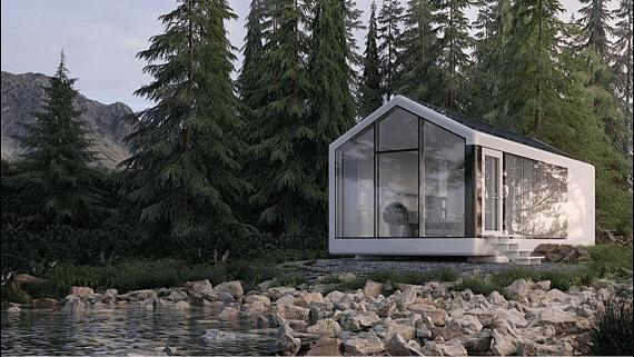 Украинский стартап строит автономные дома