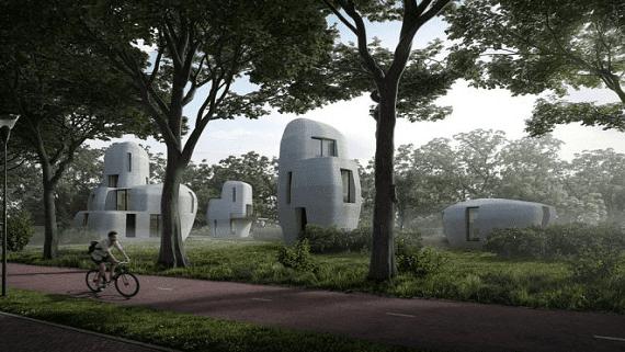 В Голландии построят небольшой жилой квартал с помощью 3D печати