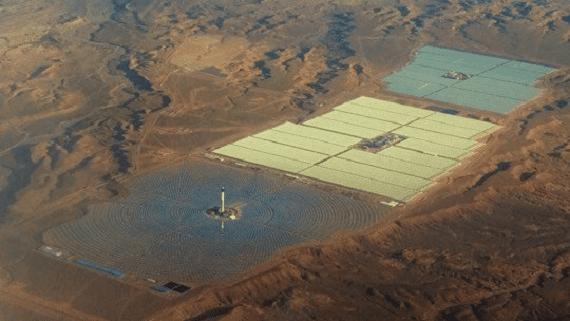 В Марокко началось строительство крупнейшей в мире солнечной башни