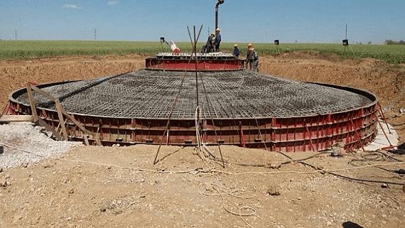 В Запорожской области началось строительство 200 мегаваттной ветровой электростанции